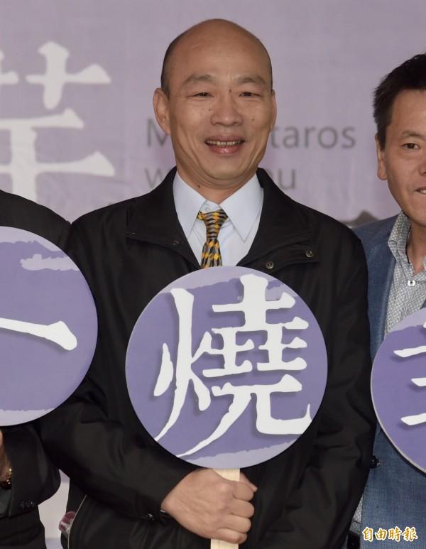 菜蟲案,前北農總經理韓國瑜(圖)告立委段宜康不起訴。(資料照,記者黃耀徵攝)