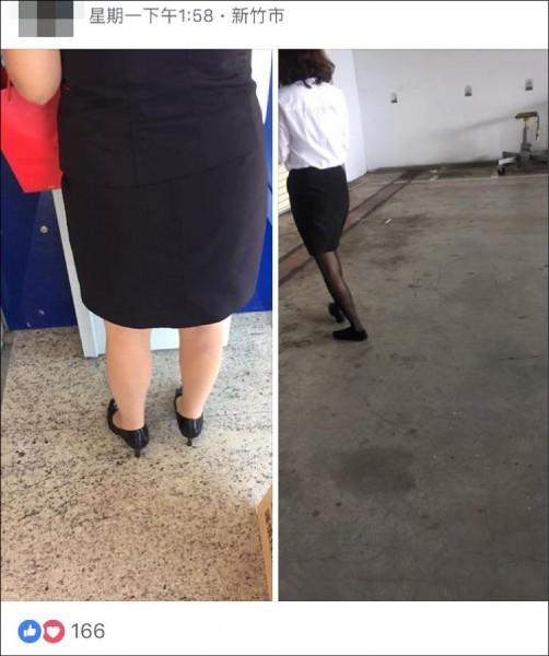 法界人士指出,「美腿控」偷拍女性的行為遊走法律邊緣。(記者王駿杰翻攝)