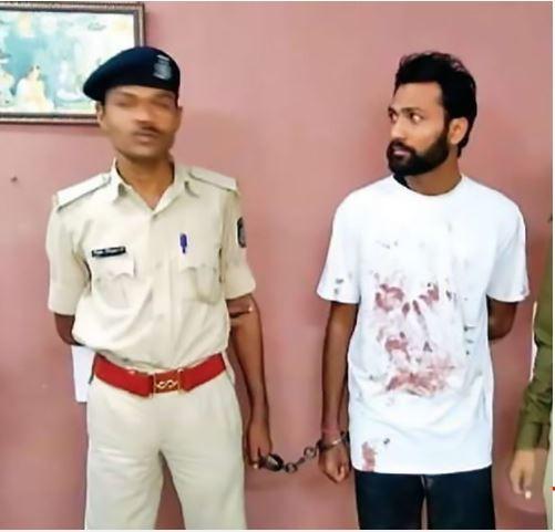 拿鐮刀砍人的嫌犯沛特爾(Pritesh Patel)(圖擷取自鏡報)