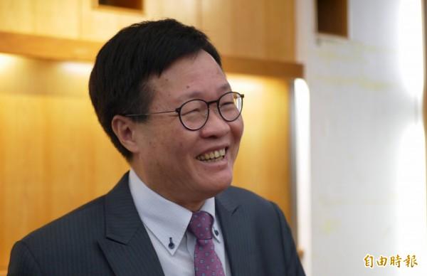 民進黨宜蘭縣長開放黨內登記,陳金德宣布,不參與「初選」。(記者簡惠茹攝)