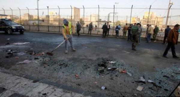 巴格達發生自殺炸彈攻擊,至少27人死亡。(路透)