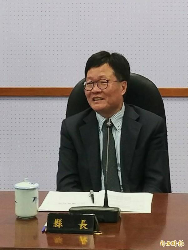 宜蘭代理縣長陳金德被傳今天不會參與民進黨初選登記。(資料照,記者簡惠茹攝)