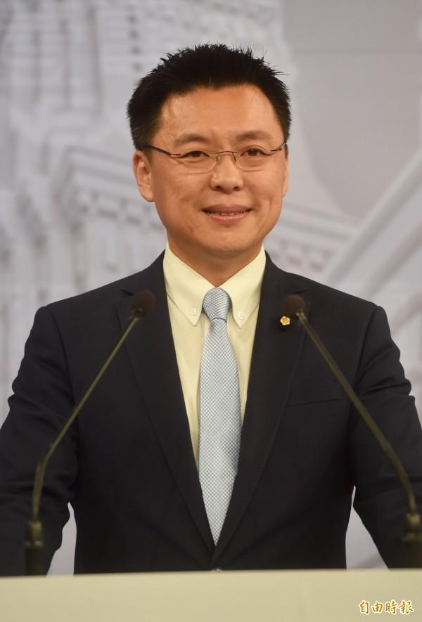 有意問鼎高雄市長的立委趙天麟指出,陳其邁是他「唯一的對手」,至於管碧玲以及林岱樺,他則會尋求整合。(資料照,記者簡榮豐攝)