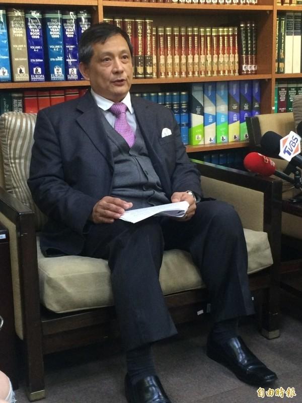 國經司司長李新穎出席外交部例會。(資料照,記者呂伊萱攝)