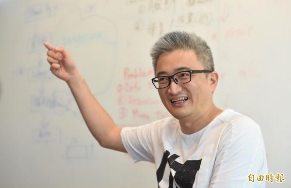 杜奕瑾在回答「是否會後悔當初沒將PTT發展為商業化的社群網站?」時指出,「不會可惜,因為從來不覺得賺錢有什麼重要」。(資料照,記者劉信德攝)