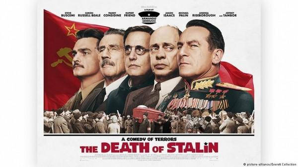 《史達林之死》宣傳海報。(圖取自《德國之聲》)