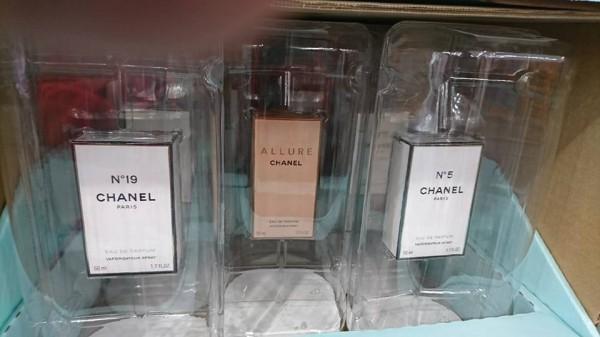 好市多賣三款香奈兒香水。(圖取自Costco好市多 商品經驗老實說臉書)