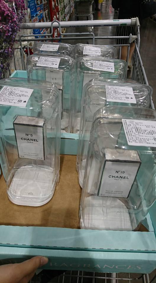 好市多賣香奈兒香水。(圖取自Costco好市多 商品經驗老實說臉書)