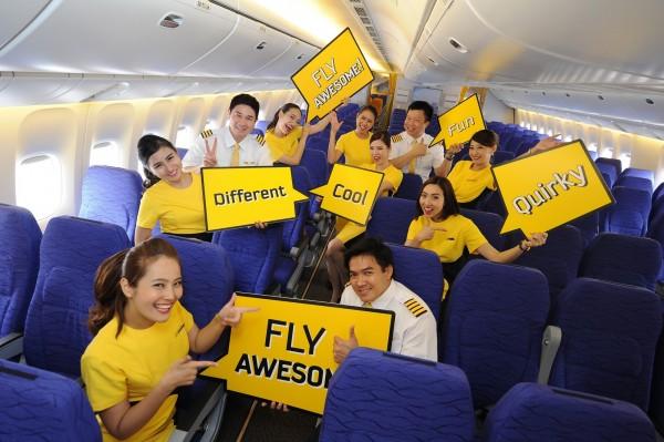 酷鳥航空今天宣布,下週將推出3天限時促銷,台北─曼谷單程含稅下殺1818元優惠價格。(酷鳥航空提供)