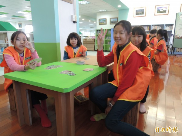 新竹市政府啟動新校園運動,透過新校舍及老舊校舍改建,讓學生成為校園的主角。(記者洪美秀攝)