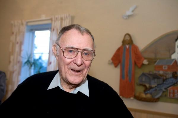 全球知名家具大廠「Ikea」的創辦人坎普拉(Ingvar Kamprad)逝世,享壽91歲。(路透)