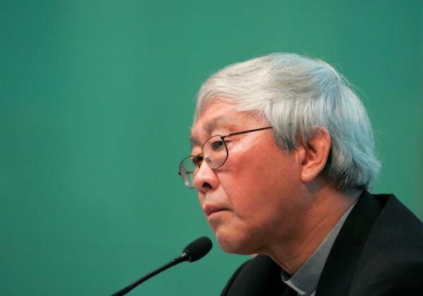 針對外傳中國合法主教被要求「讓位」,退休的香港樞機主教陳日君今(29)日表示,教宗表示已下令要求教廷官員,不要製造另一起迫害主教事件。(資料照,路透)