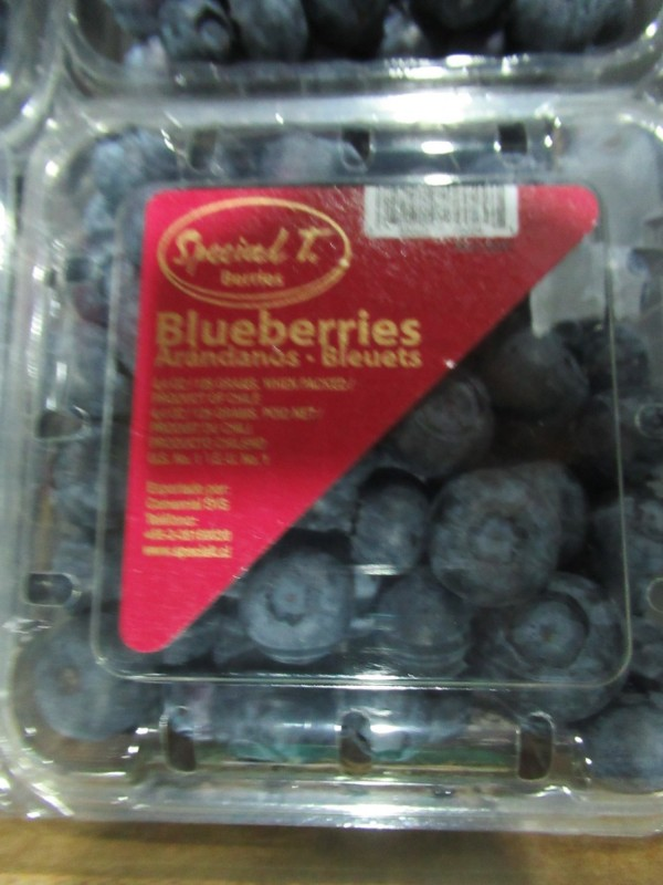 好市多與頂好進口的智利藍莓被驗出農藥超標。(資料照)