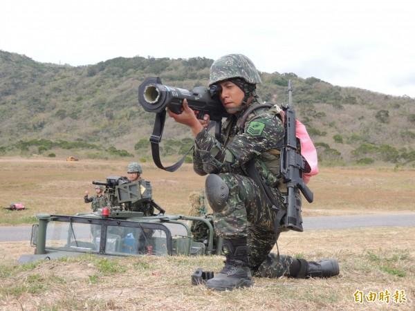 知情官員指出,中科院在穿甲關鍵技術已經取得突破,國造「紅隼」反裝甲火箭彈很快就能推出升級版。(資料照)