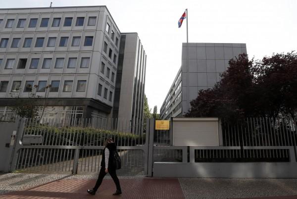 德國聯邦憲法保衛局指出,北韓利用設在柏林的大使館來為飛彈和核武計畫採購高科技零件。(歐新社)