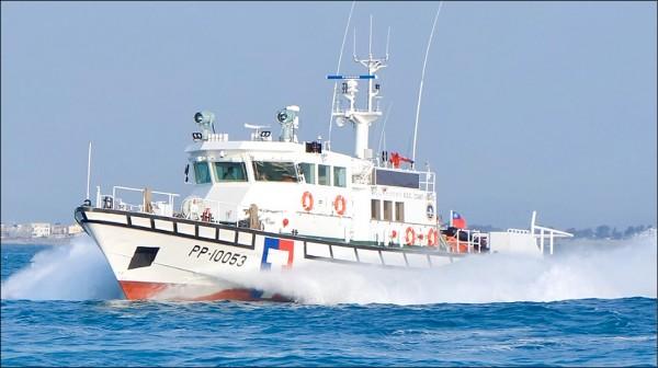 圖為海巡署百噸級巡防救難艇。(取自海巡署官網)