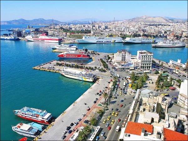 近年來深陷債務危機的希臘,接受大量來自中國的資金,其中包括中遠集團對比雷埃夫斯港的投資。(取自網路)
