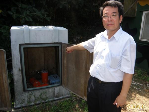 中央大學地球科學系主任顏宏元說,以地震多寡的條件來看,「確實住在桃園是最安全的」。圖為氣象局、地調所與中研院在龜山島設置的地震站隨時監測火山活動。(資料照)