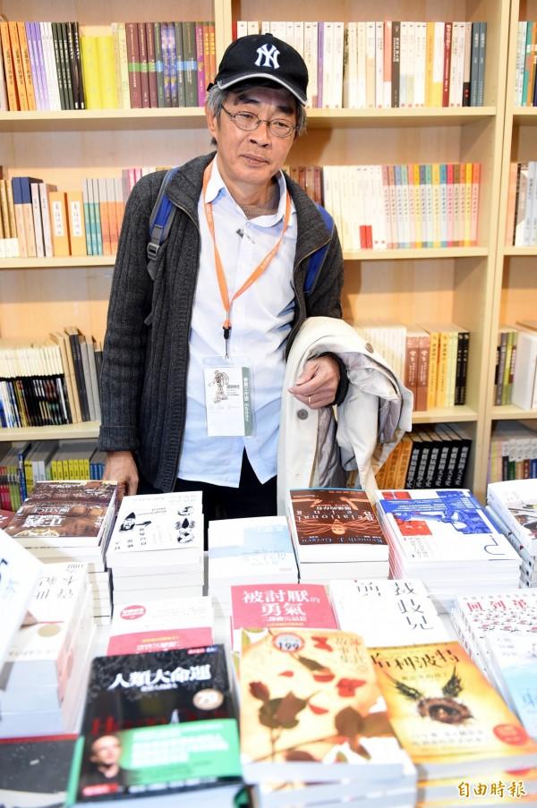 前銅鑼灣書店店長林榮基。(資料照)