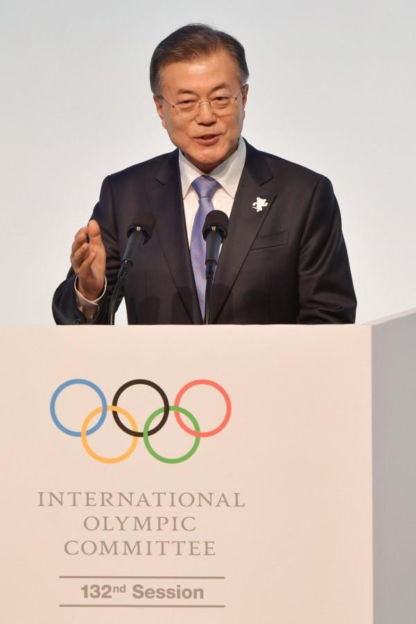 消息人士透露,南韓總統文在寅可能在今年內到訪北韓。(法新社)