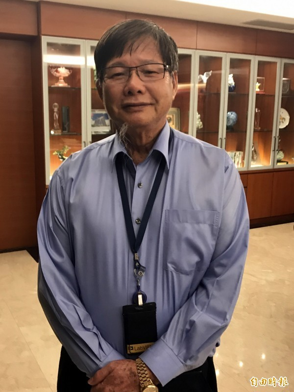 慶富董事長陳慶男。 (資料照)