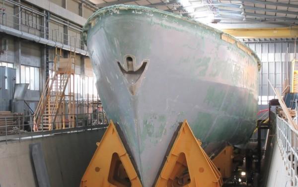 高雄地檢署偵辦海軍國造獵雷艦弊案,今天調查宣告終結。(慶富提供)