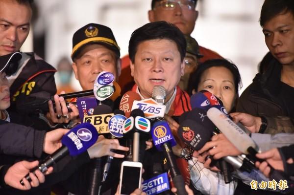 花蓮縣長傅崐萁今(12日)表示,目前大約收到超過7.5億元的善款,但「和台南地震的43億元善款來比較,仍然有一段很大的差距」。(資料照)