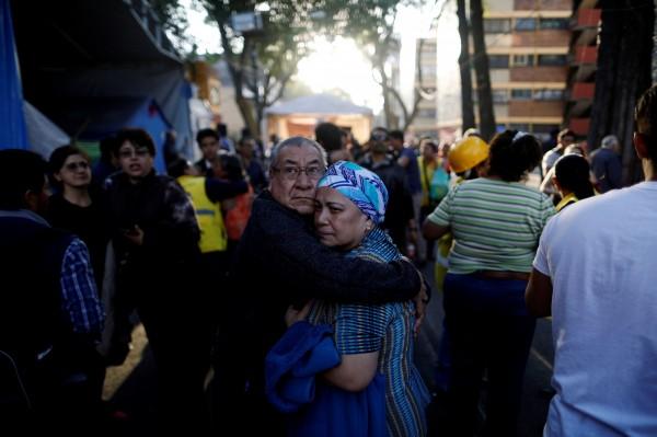 墨西哥發生規模7.2地震,首都墨西哥城感受到劇烈搖晃。(路透)