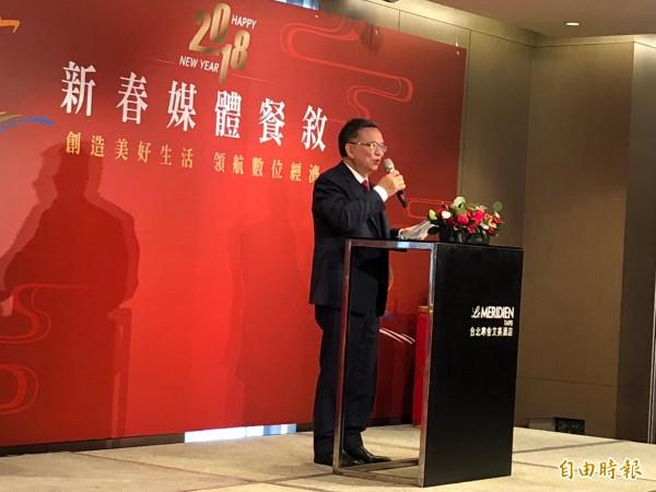 中華電信董事長鄭優表示,MOD可望在月底挑戰本土第一大影視內容平台。(記者陳炳宏攝)