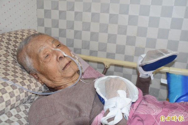 二二八事件陳淇澤被拘留一百五十三天,身心飽受凌虐、折磨,只剩半條命!(記者蘇福男攝)