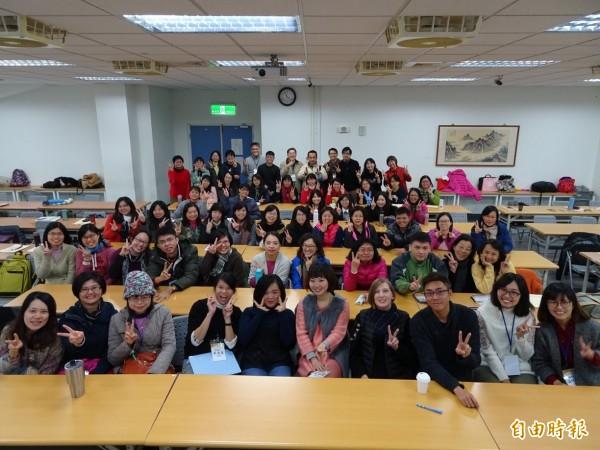 CLIL教學工作坊吸引81校教師參與。(記者洪瑞琴攝)