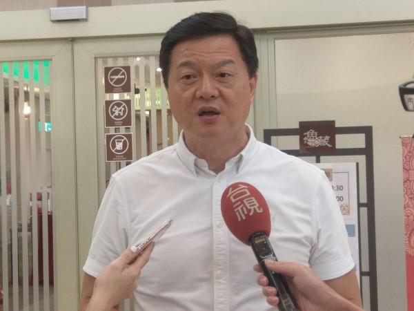 前台北縣長周錫瑋投入新北市長選舉。(周錫瑋新北政策中心提供)