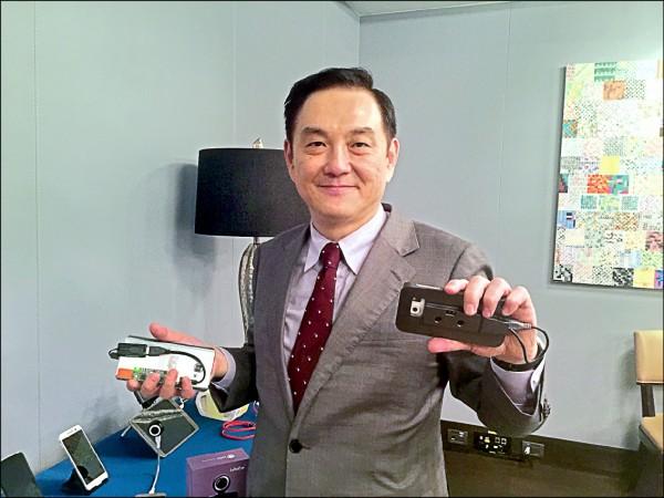 鈺創董事長盧超群。(資料照)