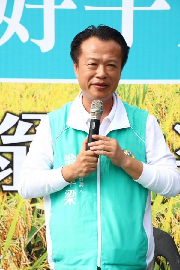 前農委會副主委翁章梁。(資料照)