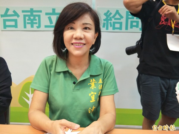 立委葉宜津日前在民進黨台南市長初選電視政見發表會上表示,應該要廢除ㄅㄆㄇㄈ,把羅馬拼音學好,引發外界議論。(資料照)