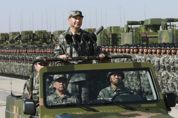 學者指出,隨著中國近年來南海的強硬作為以及軍力增長,已使得亞洲開始一波新的軍備競賽。(美聯社)