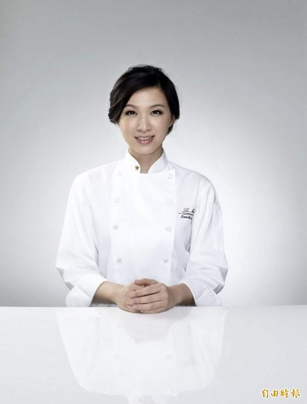 樂沐法式餐廳主廚陳嵐舒有「亞洲女廚神」稱號。(樂沐法式餐廳提供)
