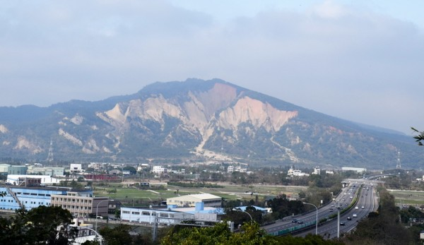 苗栗縣三義火炎山是自然保留區。(記者彭健禮翻攝)