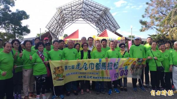 去年虎尾公所與虎馬合辦馬拉松,今年傳出各辦各的,且日期時間都一樣。(記者廖淑玲攝)
