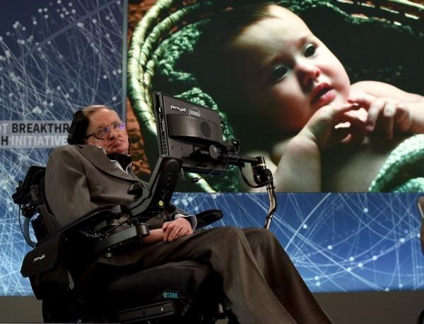 英國知名物理學家霍金(Stephen Hawking)今天在劍橋家中安詳辭世,享壽76歲。(法新社)