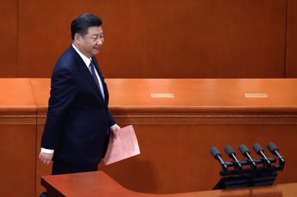 美國媒體分析,習近平擁權之後,會著重於國家主權的鞏固,特別是加強對台灣和香港的控制。(法新社資料照)