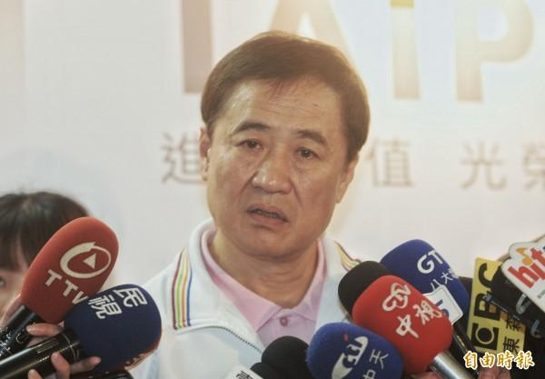 台北市副市長陳景峻今天上午證實,請辭北農董事長一事!(記者林正堃攝)