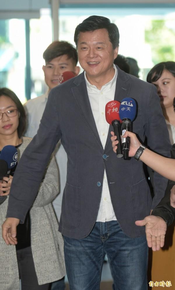 周錫瑋今天受訪時說,他出來參選的原因,是自認有能力讓新北市的市民過得更好。(資料照)