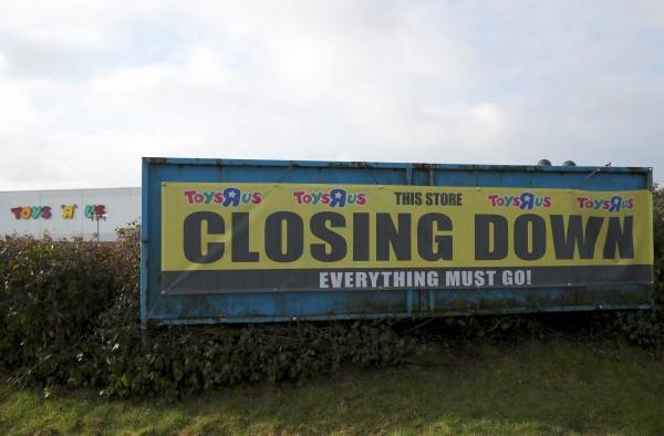 玩具反斗城全美分店將歇業的消息一出,大大震驚全球消費者和各大玩具製造商。(路透)