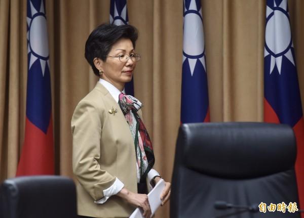 陸委會前主委張小月傳聞有望接任海基會董事長。(資料照)