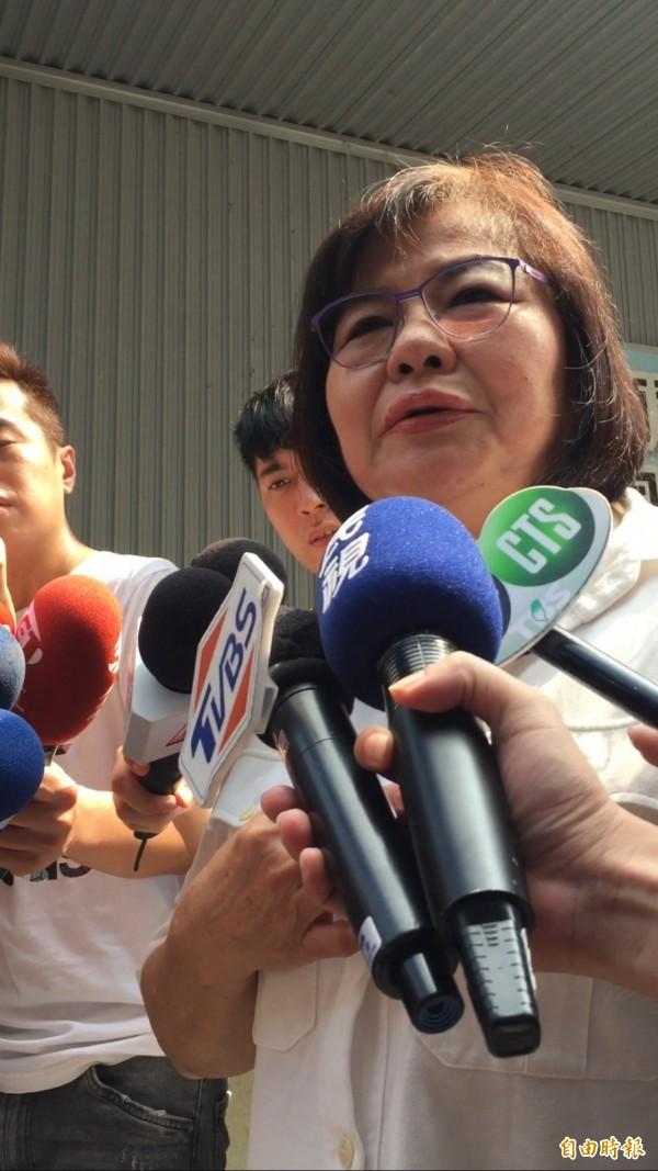 國民黨北市黨部主委黃呂錦茹今受訪時表示,目前國民黨北市長候選人會循黨內初選機制,沒有徵召、協商機制。(資料照)