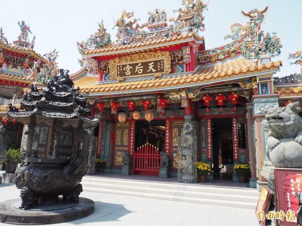 台東天后宮是許多台東市民的信仰中心。(記者王秀亭攝)