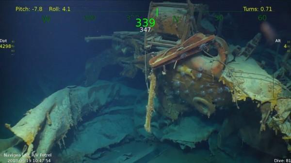 所羅門群島海域發現美國輕型巡洋艦「朱諾號」,此軍艦因船上5兄弟全數陣亡而聞名。(圖擷自YouTube)