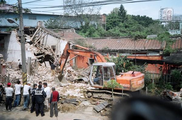 守讓堂於民國九十五年被拆除。(翻攝資料照)