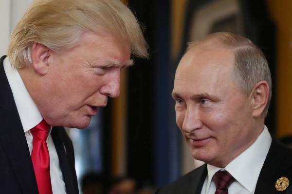 美中日貿易戰開打,俄羅斯也宣布由於美國的高關稅政策,因此考慮對美國進口物品採取報復性手段。(法新社)
